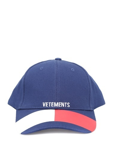 Vetements Şapka Mavi